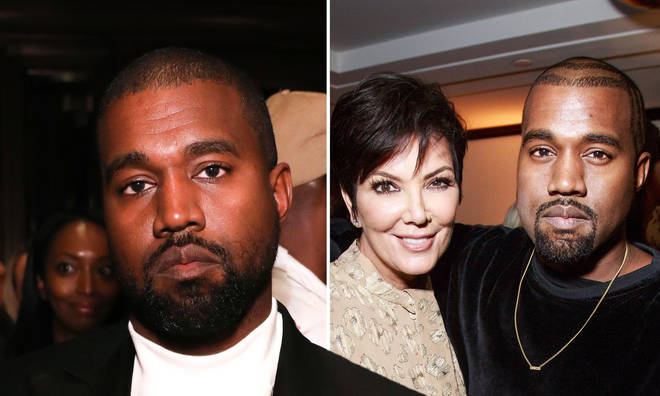 """Kanye West hailed Kris Jenner a """"white suprematist"""" in a since-deleted tweet."""