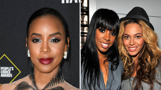Kelly Rowland spoke about comparing herself to Beyonce during her time in Destiny's Child.