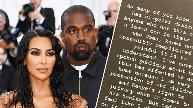 Kim Kardashian breaks silence following Kanye West 'divorce' claims