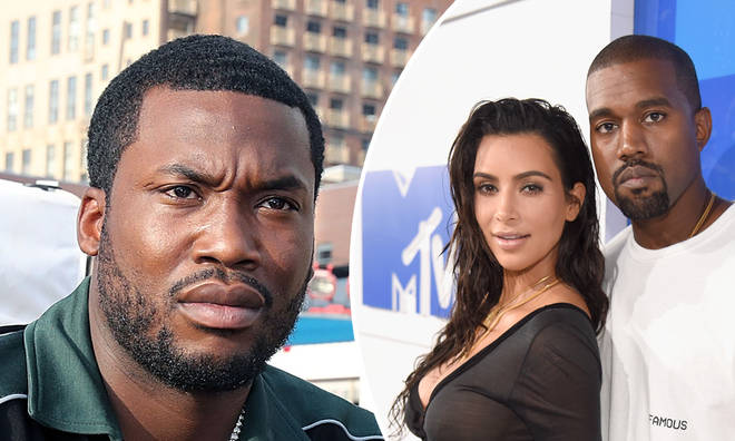Meek Mill reacts to Kanye West's claims about Kim Kardashian