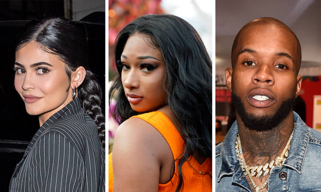 Kylie Jenner dragged into Megan Thee Stallion and Tory Lanez drama