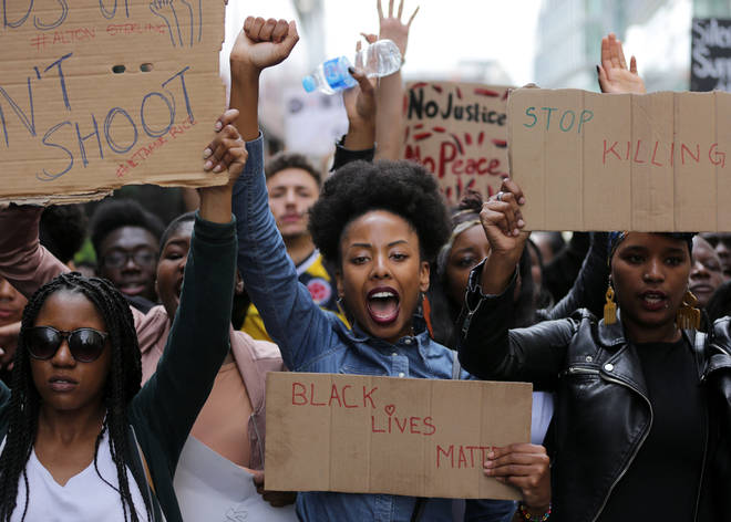 Demonstrators have been protesting across the world in the fight for racial equality.