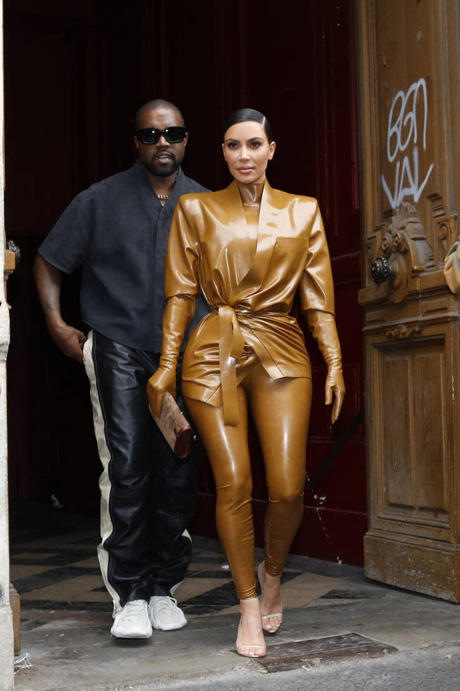 Kanye West claims he has been 'trying to divorce' Kim Kardashian