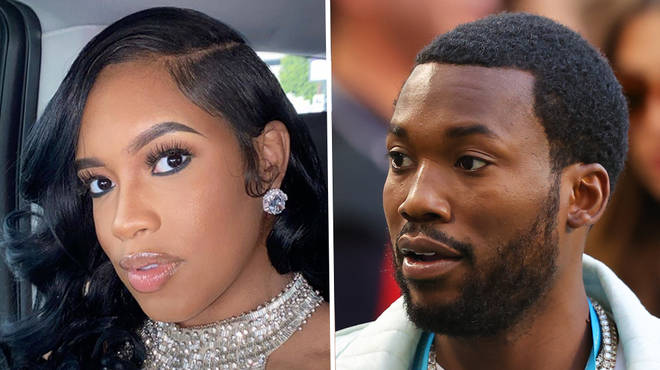 Milan Harris responds after Meek Mill announces their split