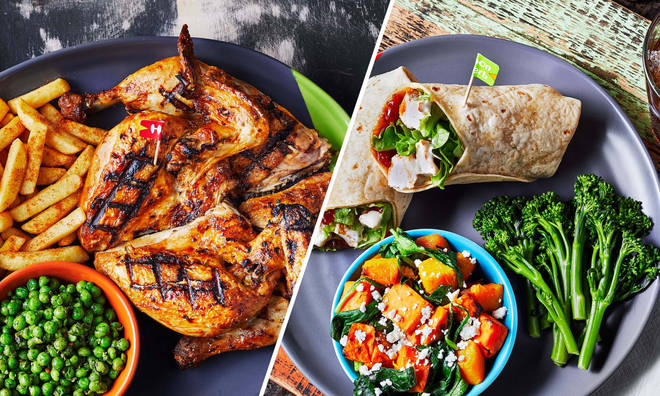See the full Nando's reduced menu here.