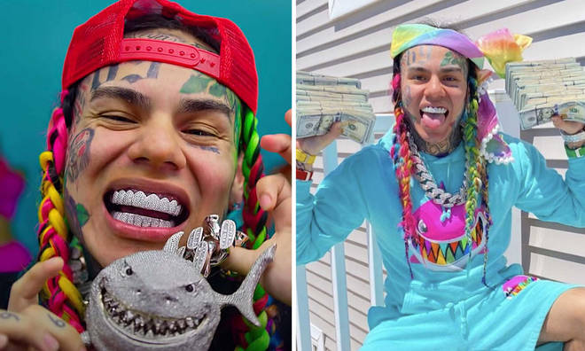 Tekashi 6ix9ine is producing a livestream to promote his new album.