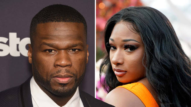 50 Cent shocked his fans by apologising to Megan Thee Stallion over a joke about her shooting.