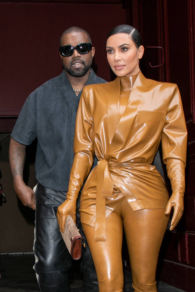 Kim Kardashian and Kanye West have reunited in Wyoming, following the rapper's tweets