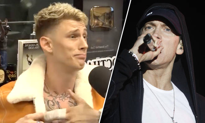 Machine Gun Kelly, Eminem.