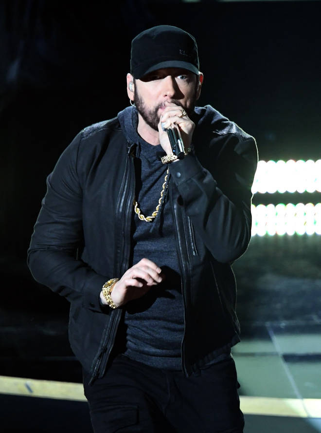 Snoop Dogg admitted that Eminem (pictured) wasn't on his top ten rappers list.