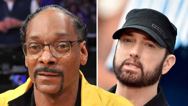 Snoop Dogg admitted that Eminem wasn't one of his favourite rappers.