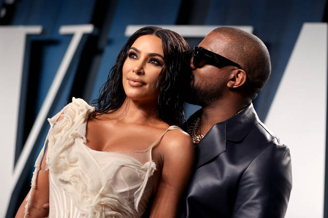 "Kim Kardashian and Kanye West have reportedly been ""living apart for a year""."