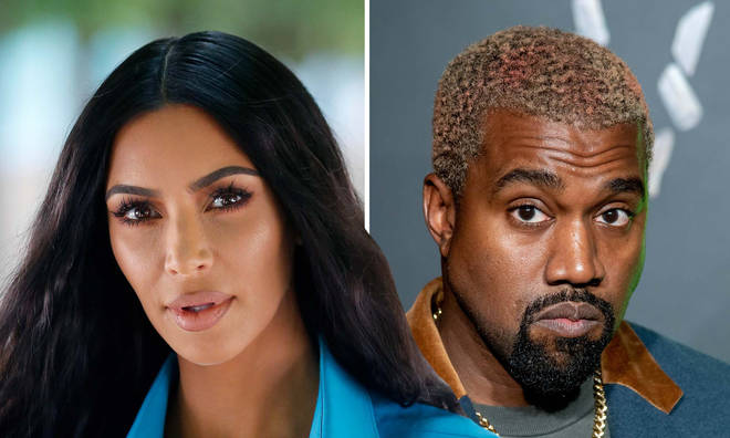 Kim Kardashian and Kanye West have reportedly been living apart for a year.