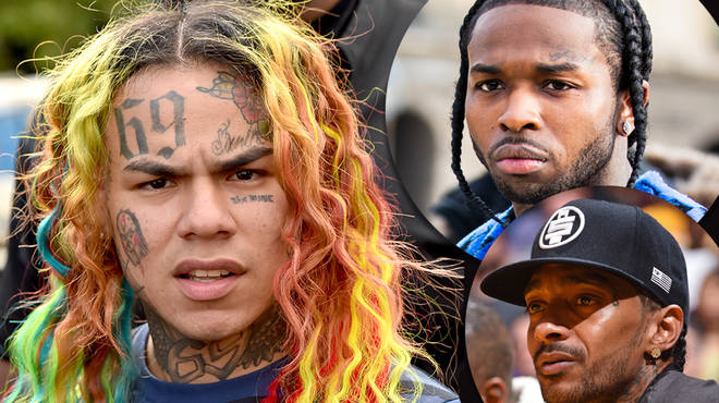 Tekashi 6ix9ine has been accused of dissing Pop Smoke and Nipsey Hussle