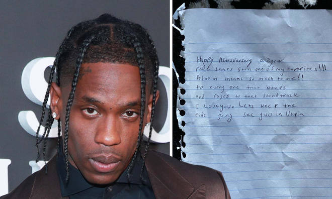 Travis Scott fans think he just revealed the title of his upcoming album.