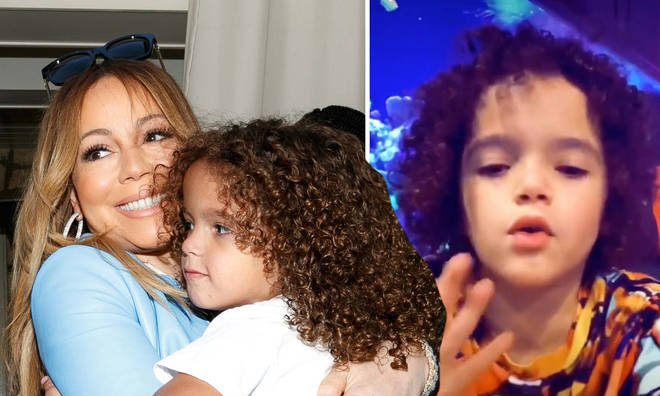 Mariah Carey and Nick Cannon's son hilariously checks fans on TikTok
