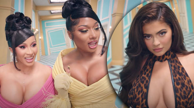 Kylie Jenner Makes Racy Cameo In Cardi B Megan Thee Stallion S