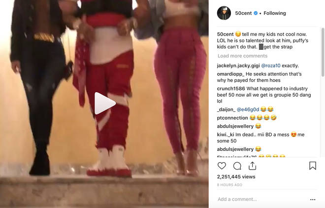 50 Cent responds to Tekashi 6ix9ine's 'Candy Shop' video