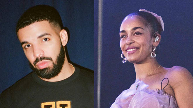 Drake and Jorja Smith