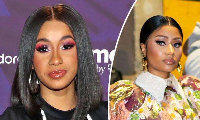 Cardi B appears to praise Nicki Minaj in new interview
