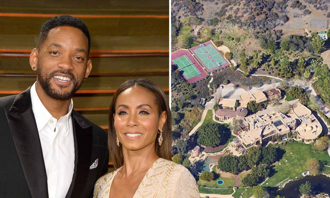 Will Smith and Jada Pinkett-Smith's house in Calabasas was designed by architect Stephen Samuelson.
