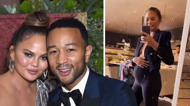 Chrissy Teigen & John Legend confirm third pregnancy.
