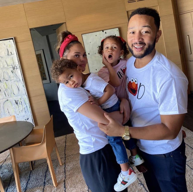 The couple already have two children - a four-year-old daughter, Luna, and a two-year-old son, Miles.