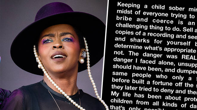 "Lauryn Hill reveals why she ""stepped away"" from the industry in a heartfelt post"