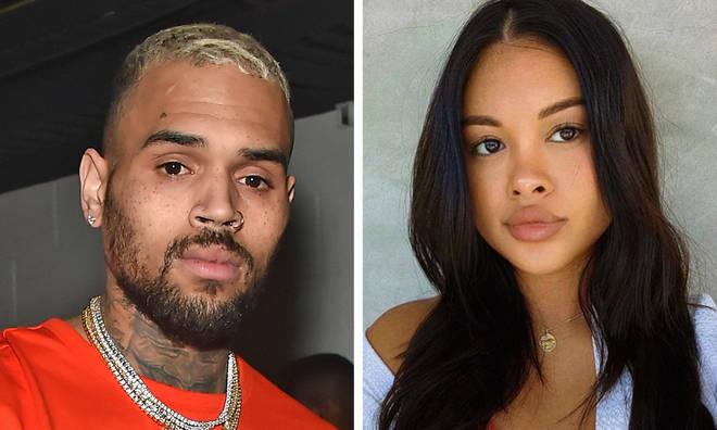 Chris Brown and Ammika Harris spark split rumours