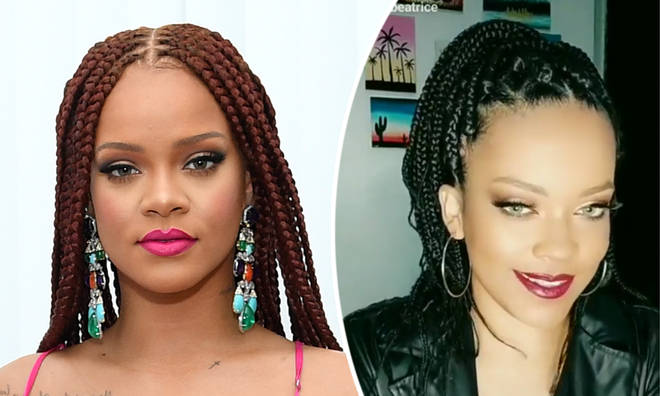 Rihanna hilarious asks look-a-like where her new album is