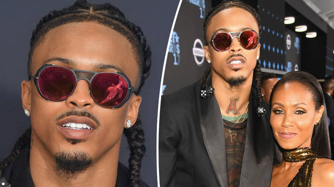 August Alsina reveals his relationship with Jad Pinkett Smith is not broken