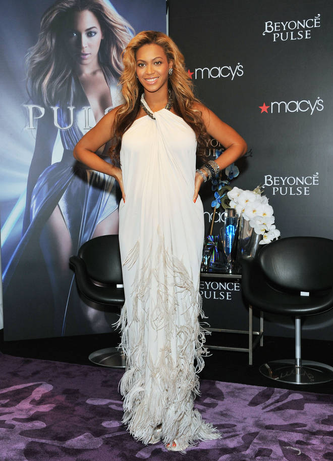 Beyonce Pulse Fragrance Launch in 2011