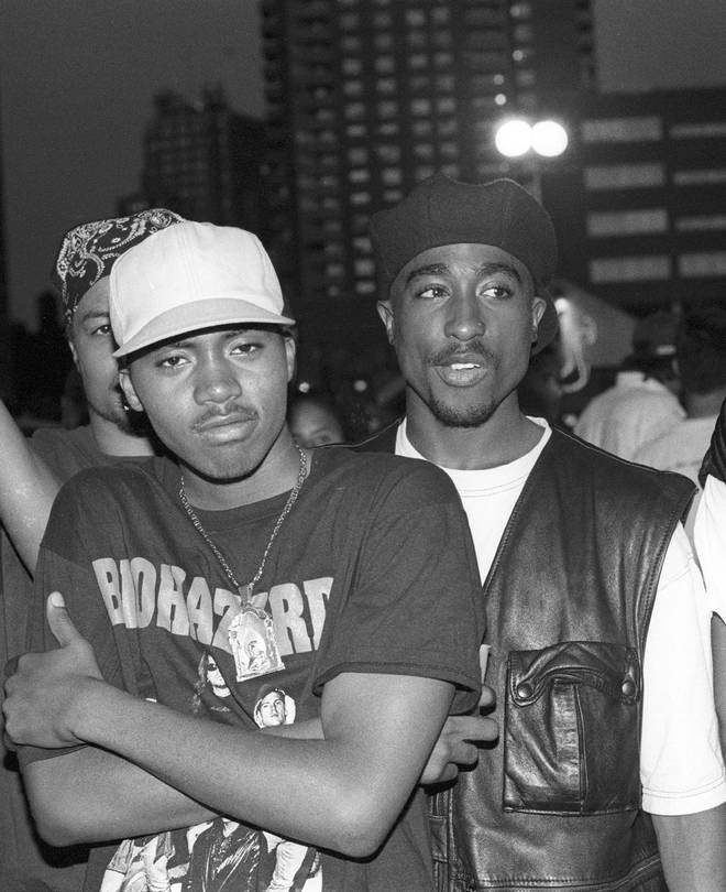 "Nas claims Tupac believed he dissed him on his song ""The Message"""