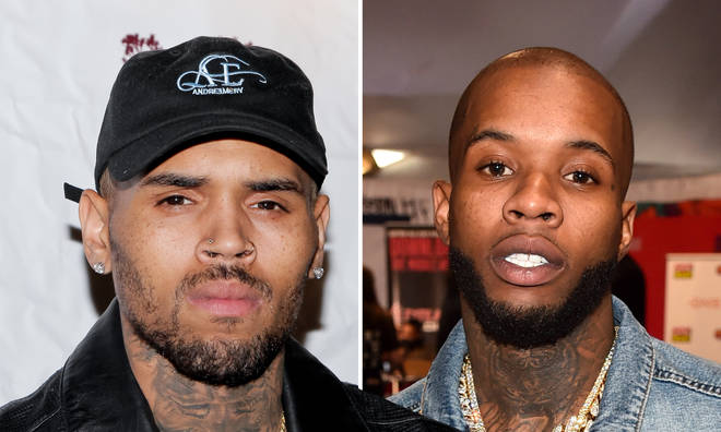 Chris Brown claps back at being dragged into Tory Lanez shooting incident