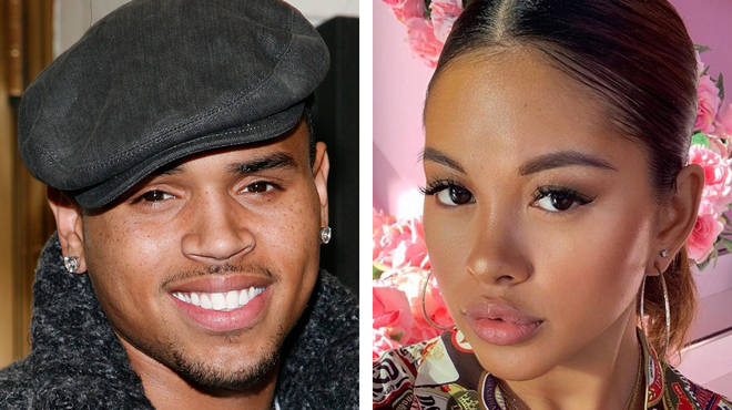 Chris Brown & Ammika Harris' thirsty posts appear to squash split rumours