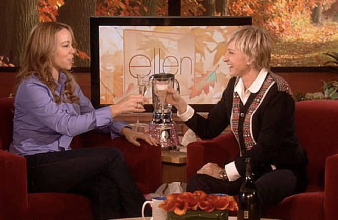 Mariah Carey appeared on Ellen DeGeneres talk show back in 2008.
