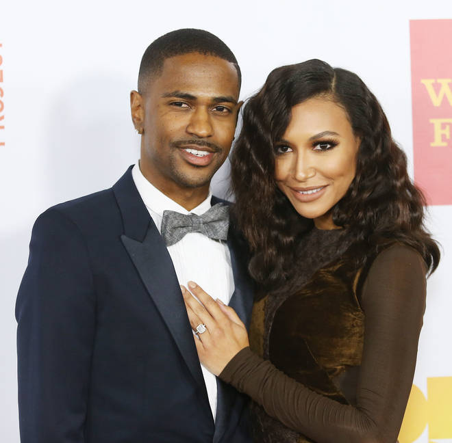 Big Sean and Naya Rivera were engaged to from 2013 to 2014