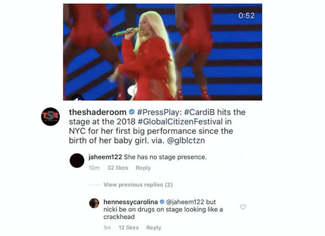 Cardi B's Sister Hennessy Just Made The Shadiest Comment