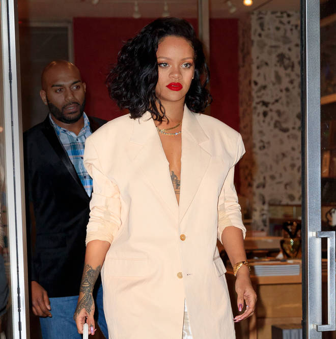 """""""I am always working on music and when I am ready to put it out in the way that I feel fit, it's gonna come out,"""" said Rihanna."""