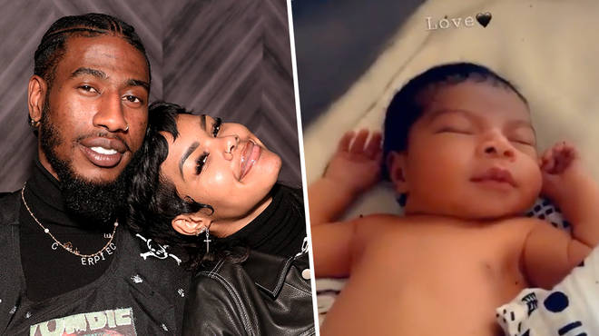 Teyana Taylor and Iman Shumpert share video of their second child