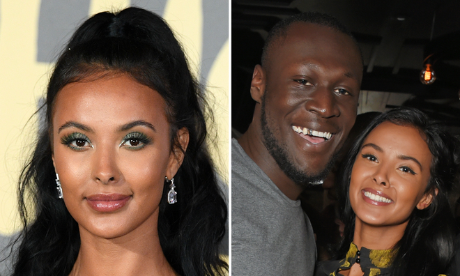 Maya Jama responds to Stormzy rapping about their relationship.