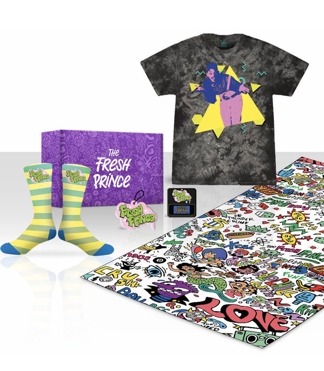 The Fresh Prince clothing line offers a variety of items