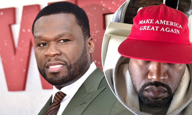 75a62a5bc 50 Cent Responds To Kanye West s Controversial Comments On Anti ...