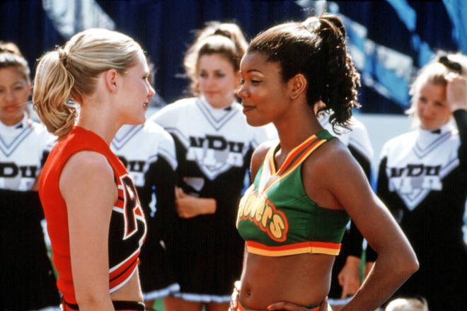 Gabrielle Union (right) starred alongside Kirsten Dunst (left) in the hit motion picture.