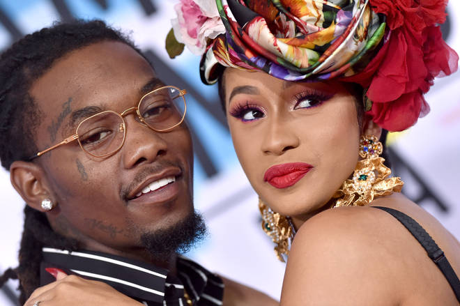 Cardi married Offset in 2017 at a secret ceremony.