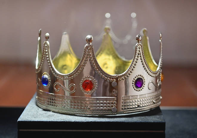 The crown that reportedly costed $6 has been sold for nearly $600k