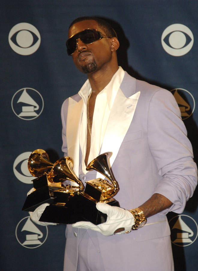 Kanye West has 21 Grammys, making him one of the top Grammy winners in history.
