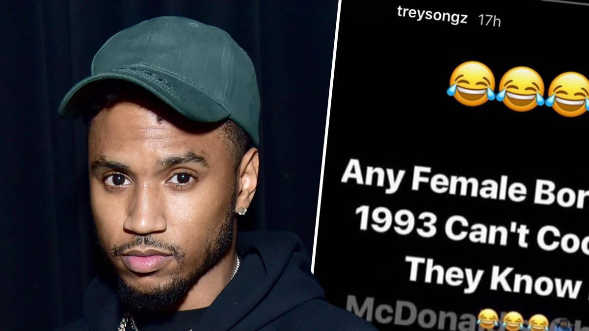 """Trey Songz slammed over meme trolling women """"born after 1993"""""""