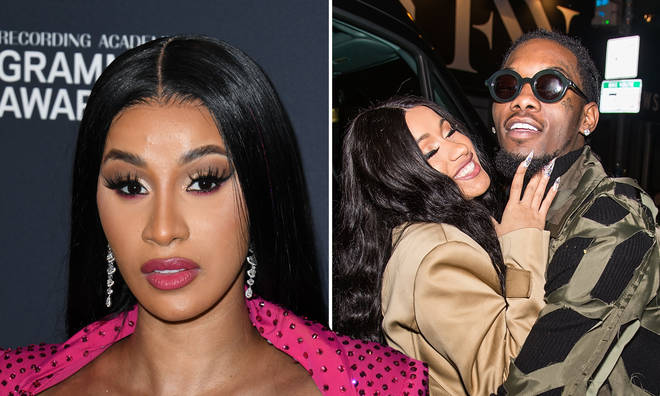 Cardi B responds to rumours that Offset got another woman pregnant.