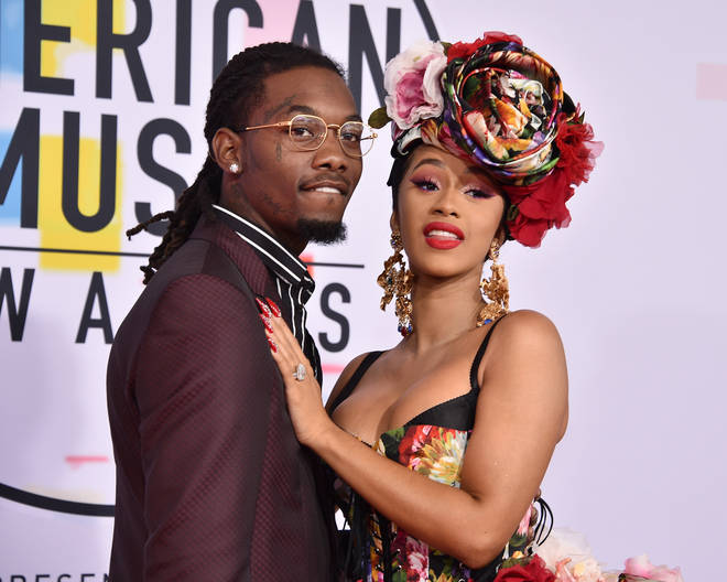 """I have not shed not one tear,"" said Cardi of her divorce from husband Offset."